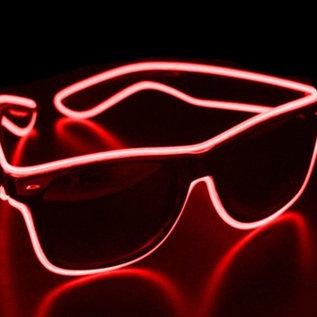 DanceCaps.com Ledglasses Red