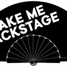 "Waaier ""TAKE ME BACKSTAGE"""