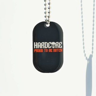 "Dogtag ""Hardcore Proud to be Dutch"""