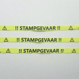 """Festivalbandjes """"STAMPGEVAAR"""" (3)"""