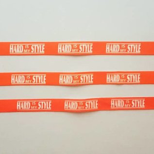 """Wristbands """"Hard is my Style"""""""