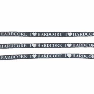 "Wristbands ""I (L) HARDCORE"""