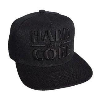 "Snapback ""Hard to the Core"" (black on black)"
