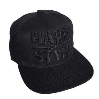 """Snapback """"Hard is my Style"""" (black on black)"""