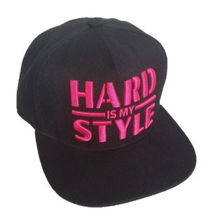 "Snapback ""Hard is my Style"" (pink)"