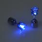 LED oorbel blauw