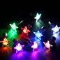 LED earring star multi