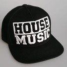 "Snapback ""HOUSE MUSIC"" (black)"