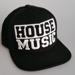 "Snapback ""HOUSE MUSIC"" (black)"