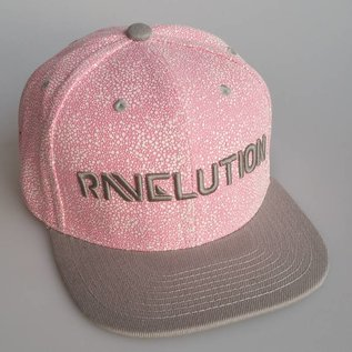 "DanceCaps.com Glow in the dark snapback ""Ravelution"" (pink)"