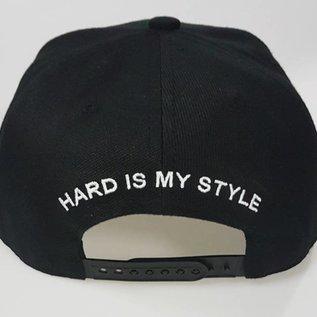 "Snapback ""Hard is my Style"" (white)"