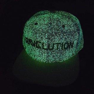 """DanceCaps.com Glow in the dark snapback """"Ravelution"""" (grey)"""