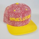 "DanceCaps.com Glow in the dark snapback ""Ravelution"" (red)"