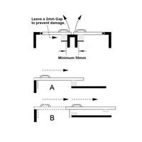 Berührungslose magnetische zylindrische (M30) Sicherheitsschalter MS3