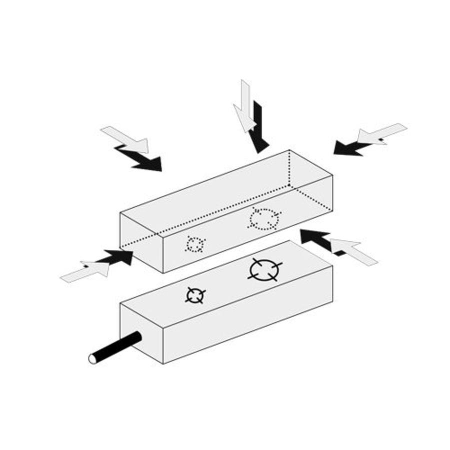 Berührungslose magnetische Sicherheitsschalter MS6