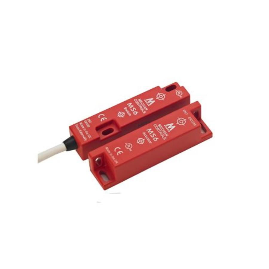 Non-contact magnetic safety switch MS6