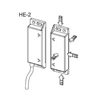 Non-contact magnetically coded safety switch HE2-SS