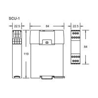 Safety control unit SCU-1