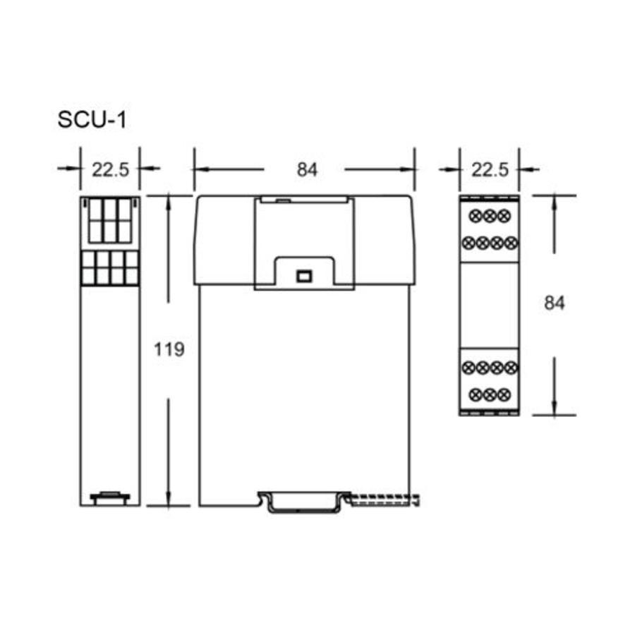 Veiligheidsbesturing SCU-1