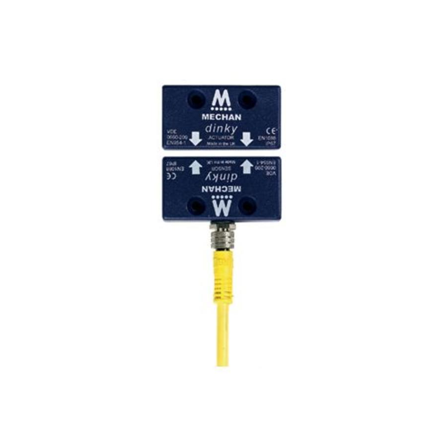 Non-contact coded electronic safety switch DINKY