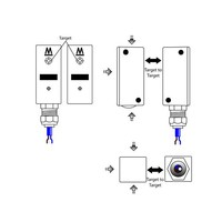 Non-contact coded electronic safety switch F-TYP
