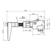 Griffbetätiger und Kopf MA2M6