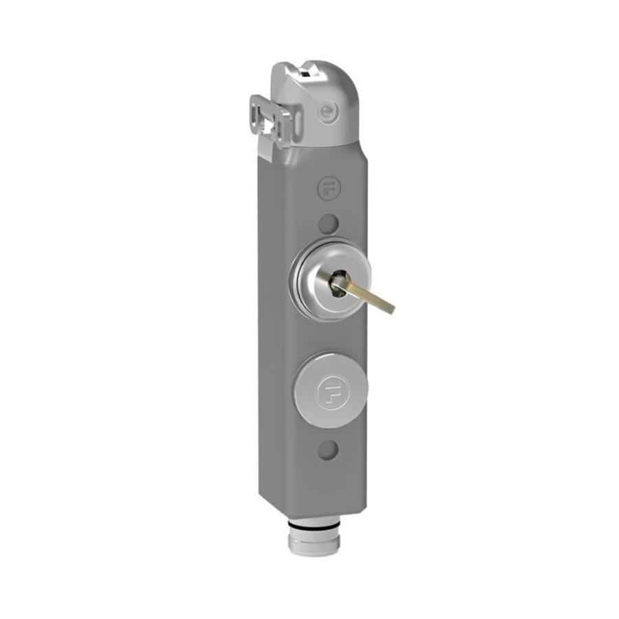 Tongbediende aluminium veiligheidsschakelaar met persoonlijke veiligheidssleutel PLd