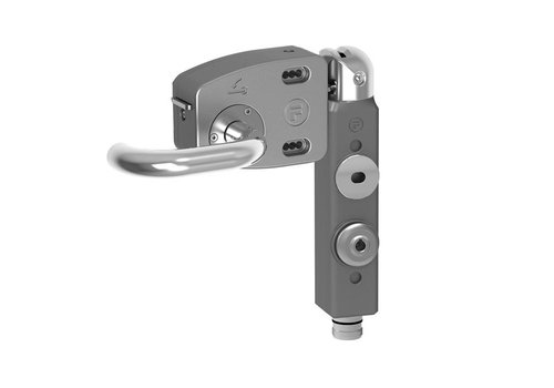 Safety interlock aluminium PLd with door handle THNSMEUQ5