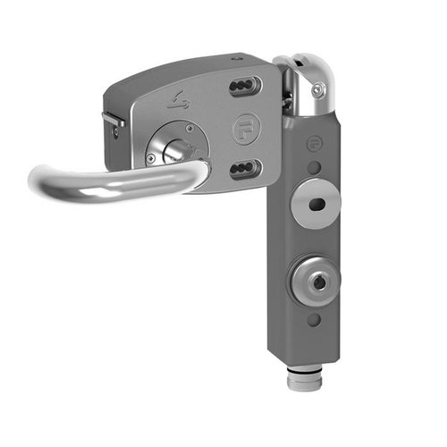 Safety interlock aluminium PLd with door handle THNSMEUQ5