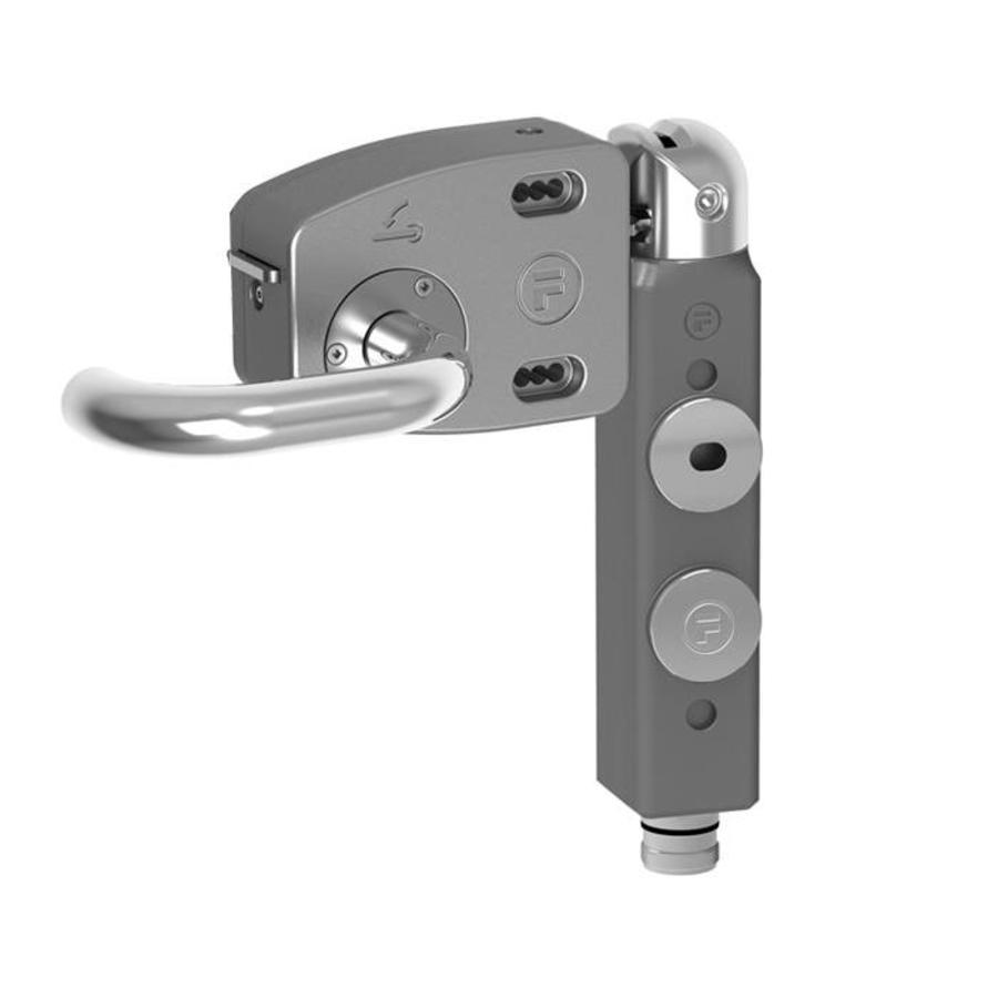 Door handle operated aluminium safety interlock switch PLd