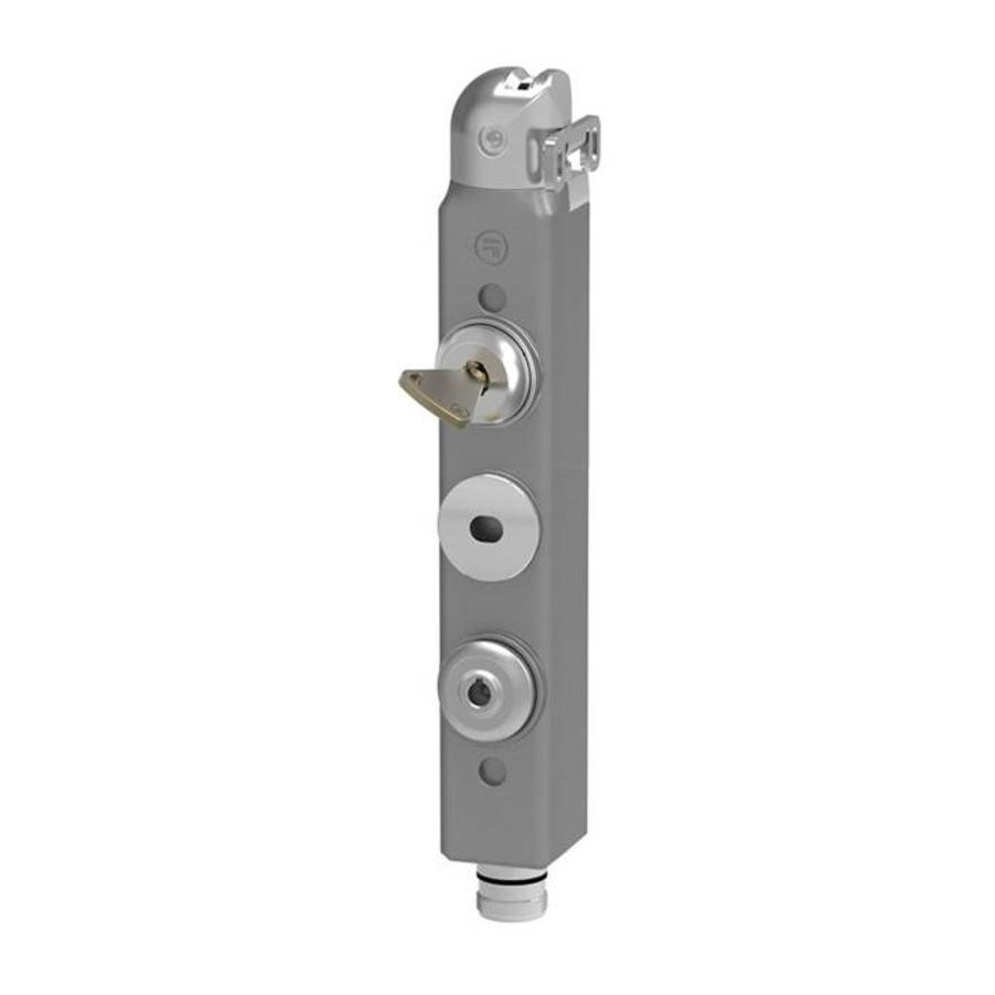 Actuator operated aluminium safety interlock switch and personal safety key PLd