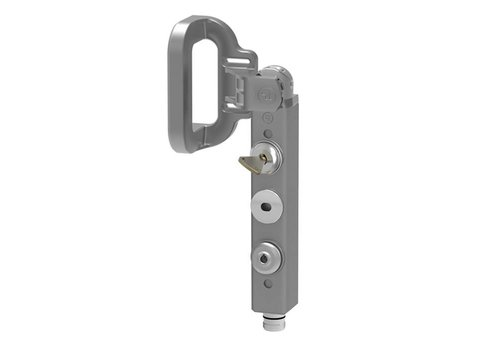 Safety interlock aluminium PLd with handle and safety key THHSNSMEUQ5