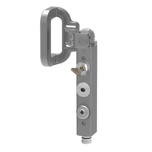 Veiligheidsvergrendeling aluminium PLd met hendel en veiligheidssleutel THHSNSMEUQ5