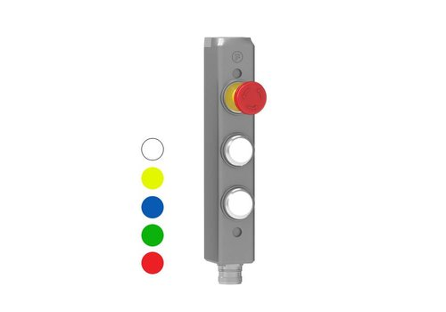 Aluminium Gatebox with 2 functions and e-stop