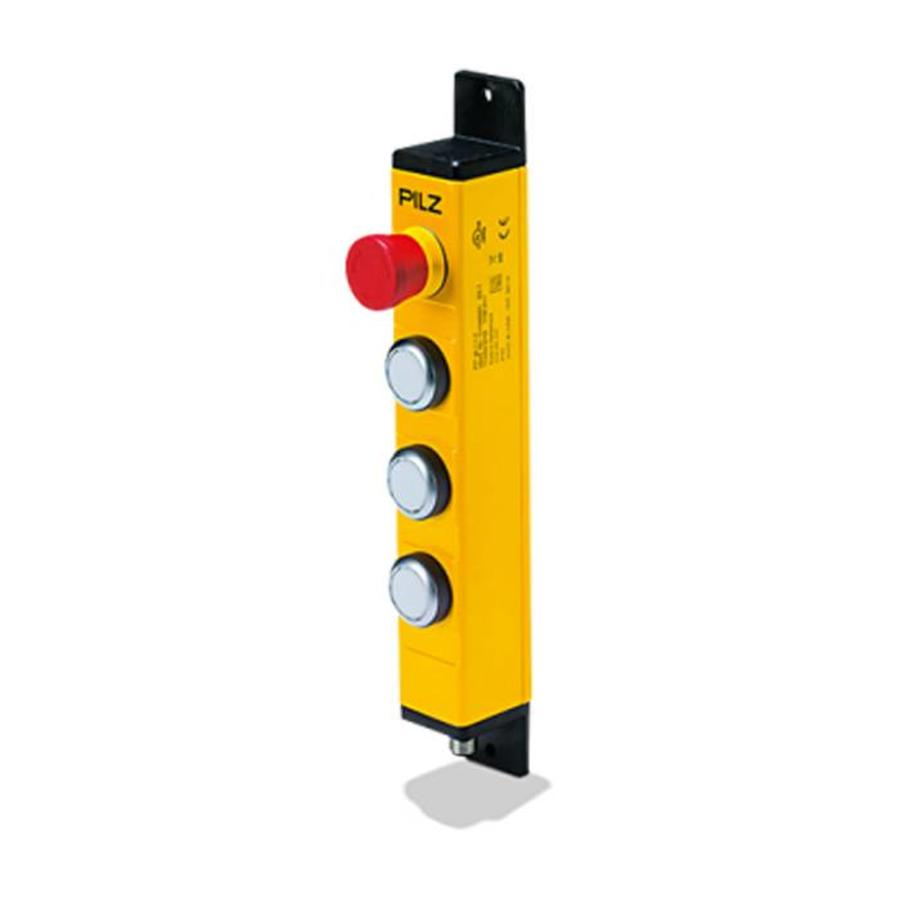 Metall control enclosure  with 3 push buttons and E-Stop