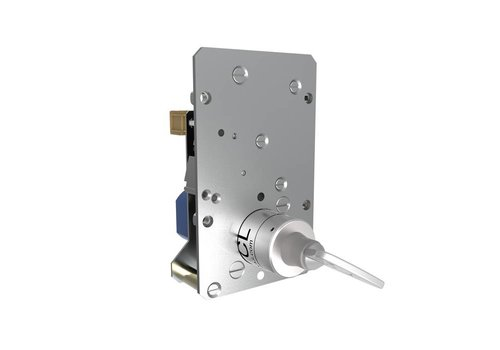 Solenoid controleld safety key switch SS1
