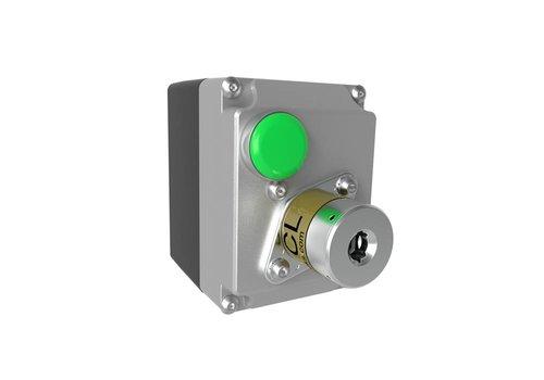 Magnetgesteuertes Sicherhheits-Schlüsselschalter im Gehause MSSR