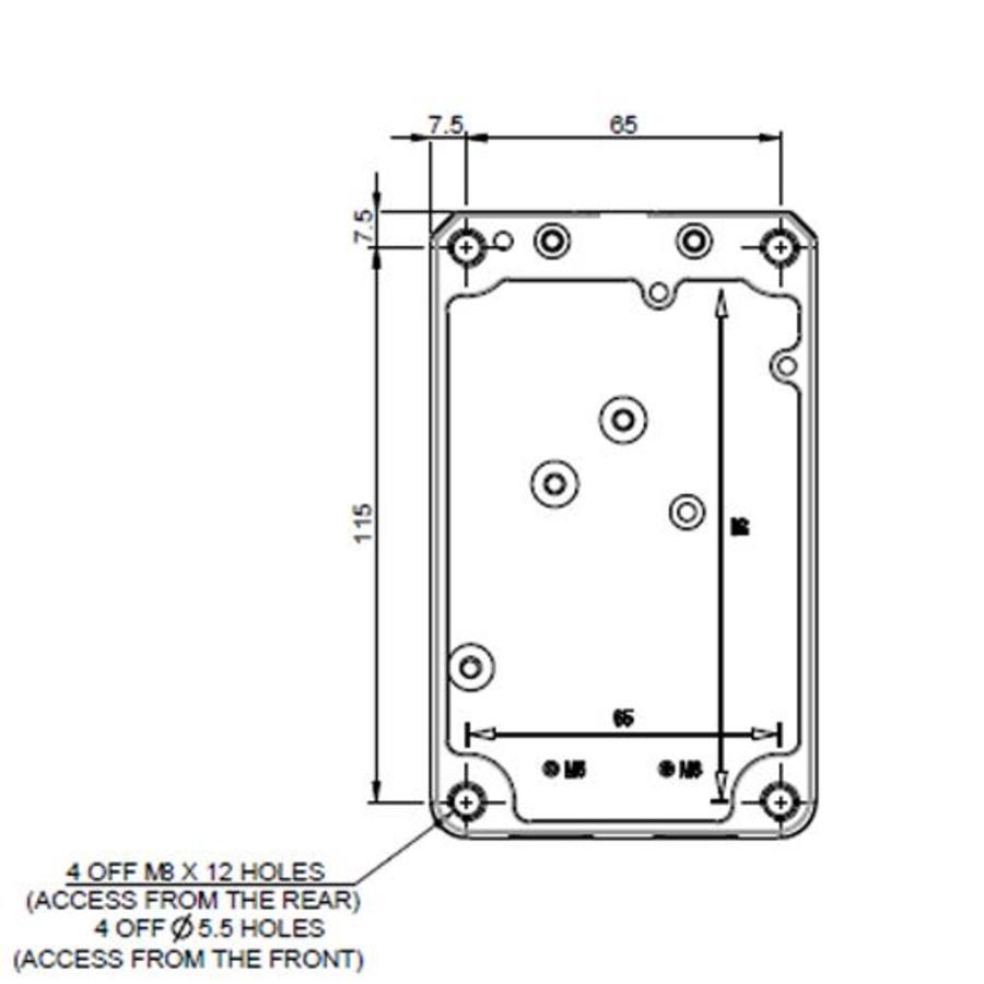 Solenoid safety interlock switch