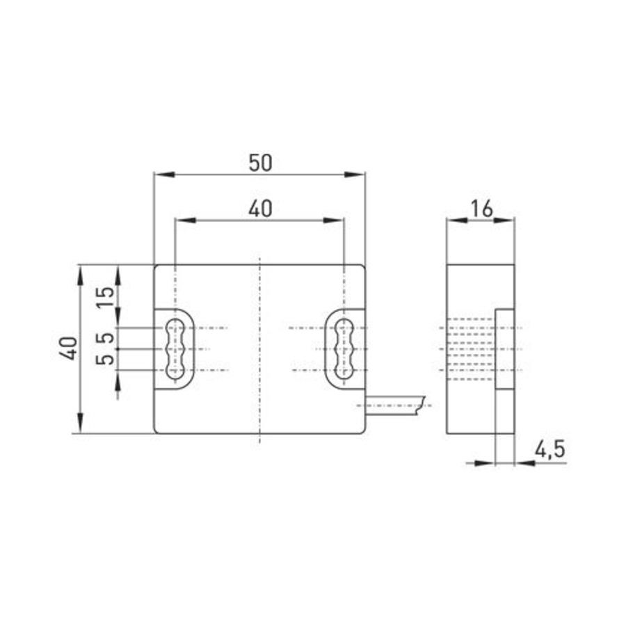 Magnetisch gecodeerde contactloze veiligheidssensor Ex