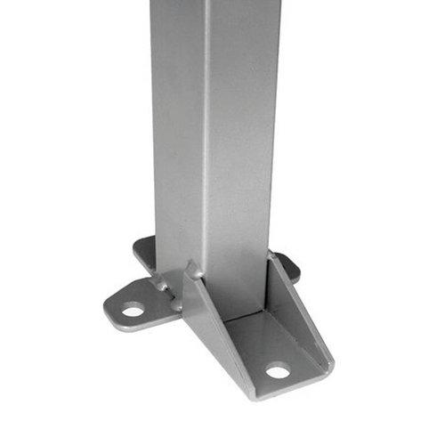 Staander 1400mm hoog - grijs
