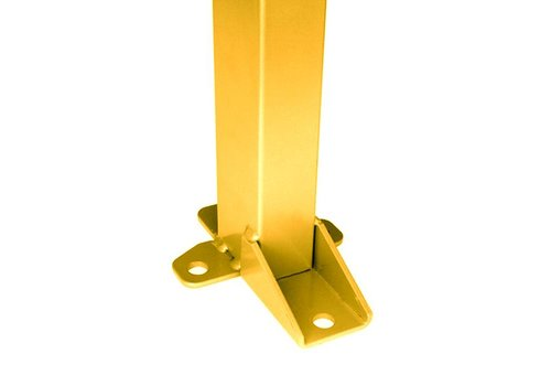 Staander 2200mm hoog - geel