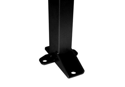 Staander 1400mm hoog - zwart