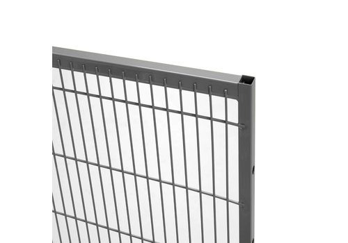 ST20 mesh panel 1400mm height -grey