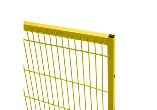 ST20 mesh panel 2200mm height - yellow