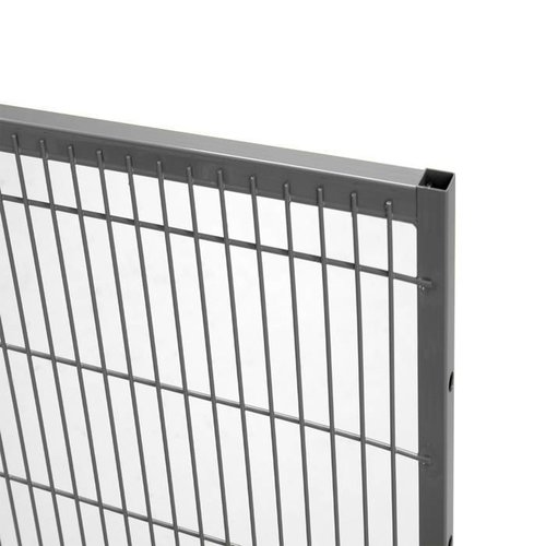 ST20 mesh panel 2200mm height - grey
