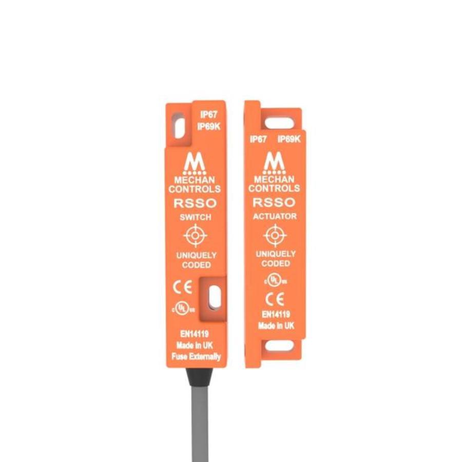 RFID uniek gecodeerde contactloze veiligheidssensor RSSO