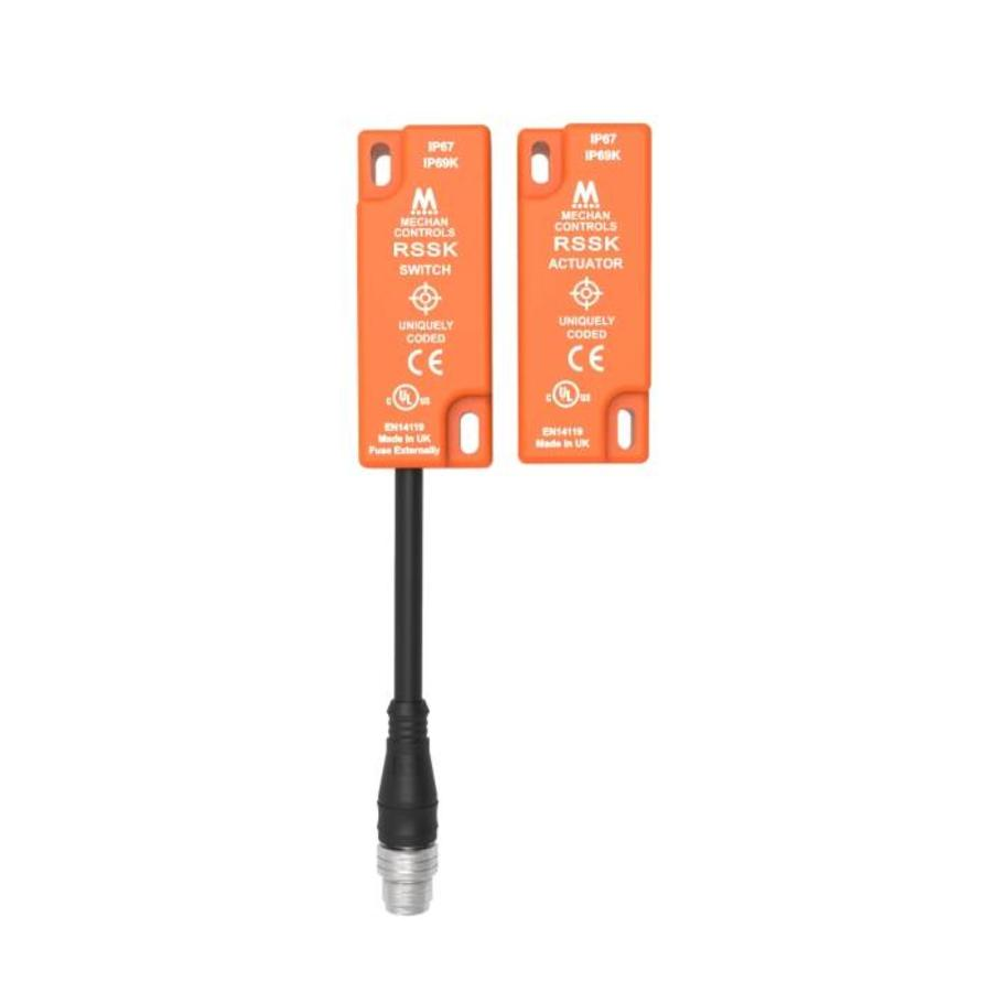 Non-contact uniquely coded RFID safety sensor RSSK