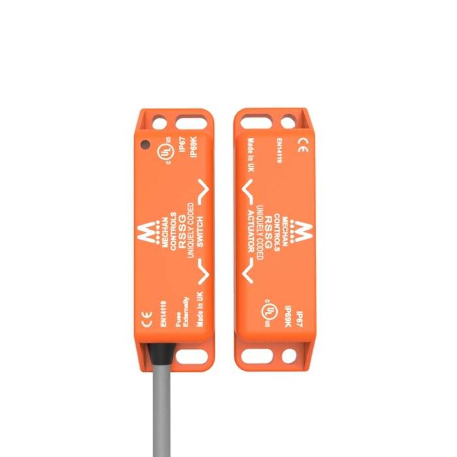 Non-contact uniquely coded RFID safety sensor RSSG