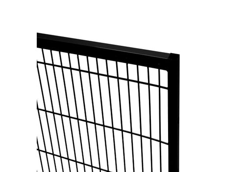 ST20 mesh panel 2200mm height - black