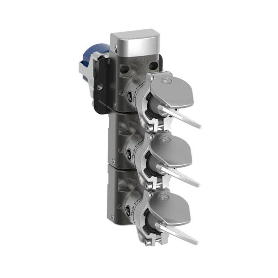 Gecodeerde meervoudige sleutelschakelaar inbouw versie